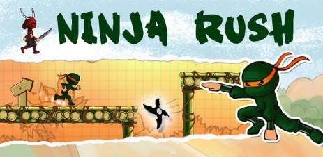 Poster Ninja Rush HD – стремительный ниндзя