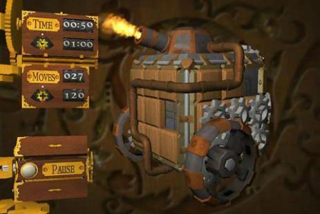 Скриншот Cogs – механические пятнашки