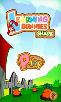 Скриншот Learning Bunnies: Shapes