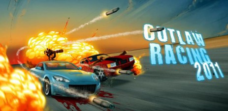 "Poster <span lang=""ru"">Outlaw Racing 2011</span>"