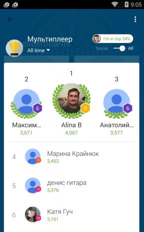 Скриншот Миллионер Викторина