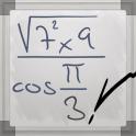 «MyScript Calculator — калькулятор который решает уравнения и формулы» на Андроид
