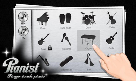Pianist HD - Finger Tap Piano | Android