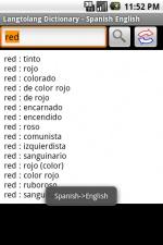 Скриншот словарь 48 языков