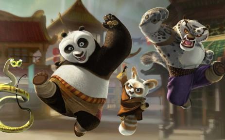 Poster найдите пару для карт — Kids Memory Panda & Madagascar
