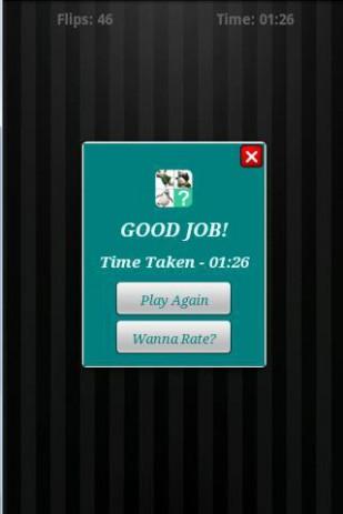 Скриншот найдите пару для карт