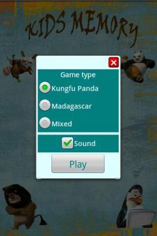 Kids Memory Panda & Madagascar | Android