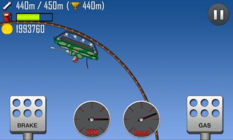Скриншот гонки по луне