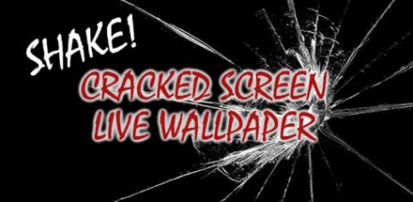 Shake! Cracked Screen LWP - треснувший экран - thumbnail