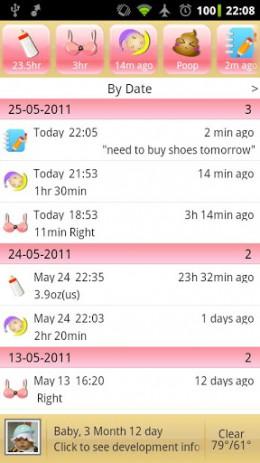iBaby - помощник для мамы | Android