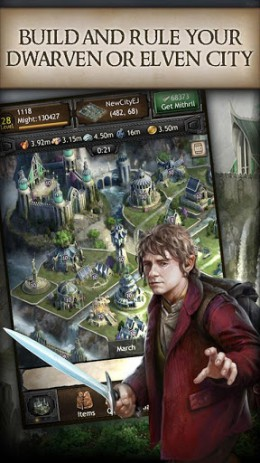 Скриншот The Hobbit: Kingdoms – война хоббитов