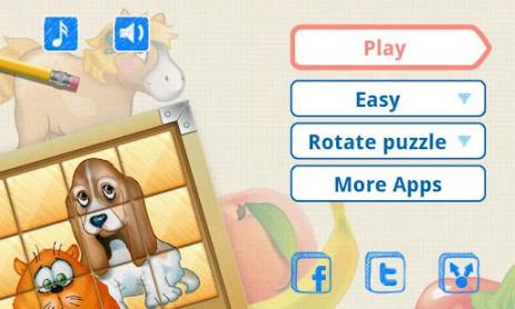 Скриншот Пазлы для детей