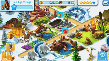 Скриншот Ледниковый период: Деревушка