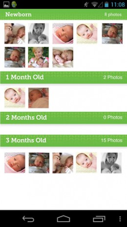 My Baby Today - помощник молодым родителям | Android