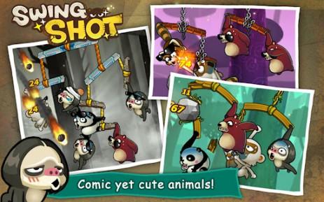 Скриншот Swing Shot
