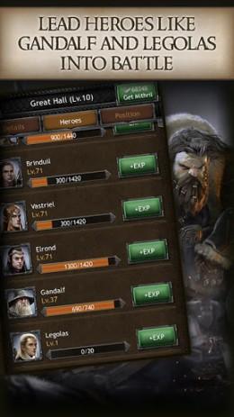 The Hobbit: Kingdoms - война хоббитов | Android