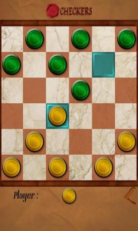 Скриншот Шашки