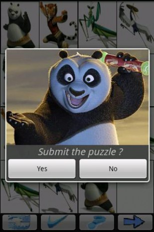 Скриншот Kids Sudoku Kun Fu Panda – судоку для детей