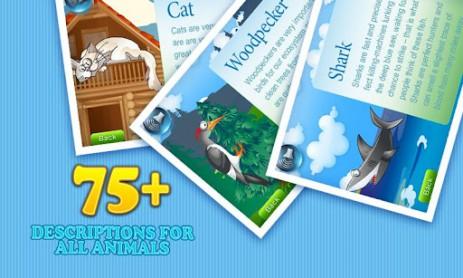 Скриншот изучайте с ребенком зверей