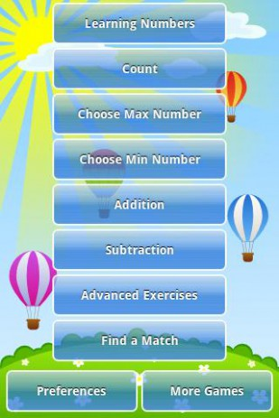 Скриншот Математика для детей
