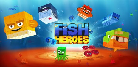 Poster Fish Heroes – рыбка герой