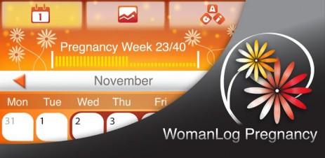 Poster WomanLog Pregnancy календарь