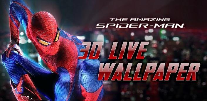 amazing spider man 3d live wallpaper free download