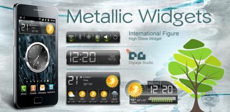 """HD Metallic Widgets - виджеты в стиле """"металл"""" - thumbnail"""
