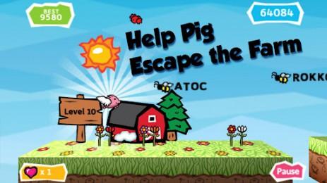 Скриншот беги свинка, беги