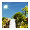 True Weather Waterfalls — обои «водопады» - icon