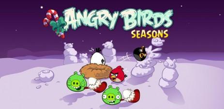 Angry Birds Seasons: Winter Wonderham! - новая зимняя часть злых птичек - thumbnail