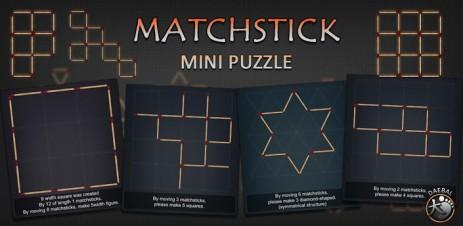 Matchstick MiniPuzzle - thumbnail