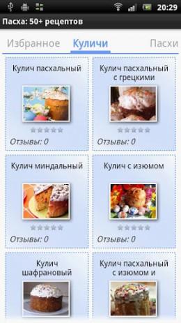 Пасха: 50+ рецептов | Android