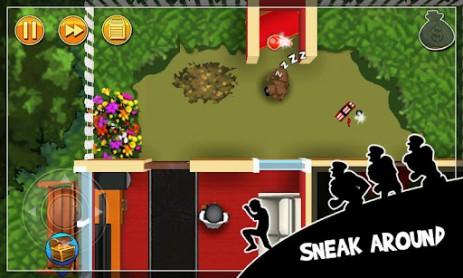 Скриншот Robbery Bob – воришка Боб