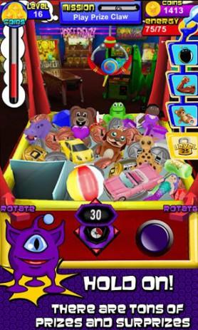 Скриншот симулятор автомата с игрушками