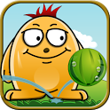 «Melon Bounce —  фруктовая головоломка» на Андроид