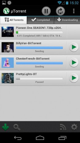 µTorrent Beta | Android