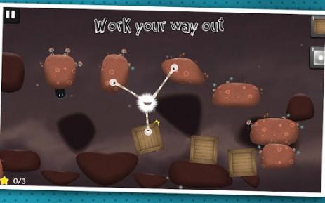 "Скриншот Tupsu-The Furry Little Monster – головоломка ""маленькие монстры"""