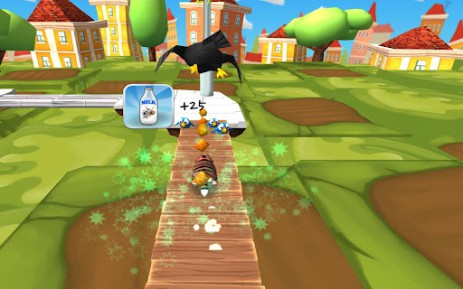 Скриншот приключения кота