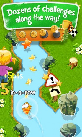 Скриншот Chasing Yello – охота на золотую рыбку