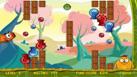 Melon Bounce -  фруктовая головоломка | Android