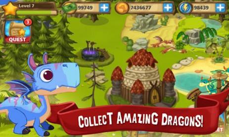 Скриншот маленькие драконы