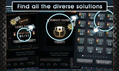 Скриншот головоломка со спичками