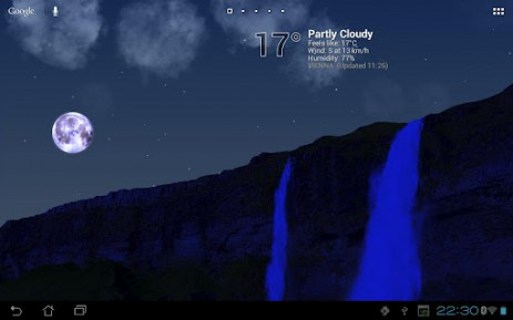 "True Weather Waterfalls - обои ""водопады"" 