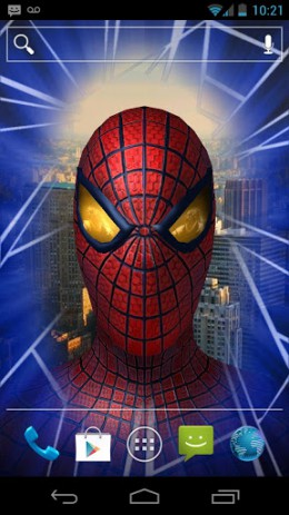Скриншот Amazing Spider-Man 3D Live WP
