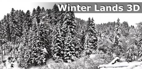 "Winter Lands 3D Live Wallpaper - обои ""Зимний мир"" - thumbnail"
