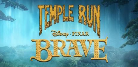 Poster Храбрая сердцем — Temple run: Brave