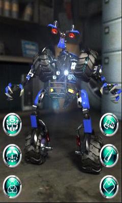 Скриншот Talking Transformer Wheelie