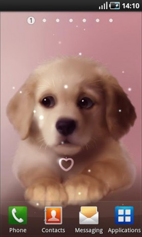 Puppy Live Wallpaper | Android