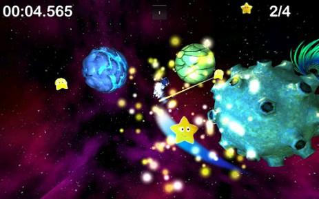 Скриншот приключения коровы в космосе